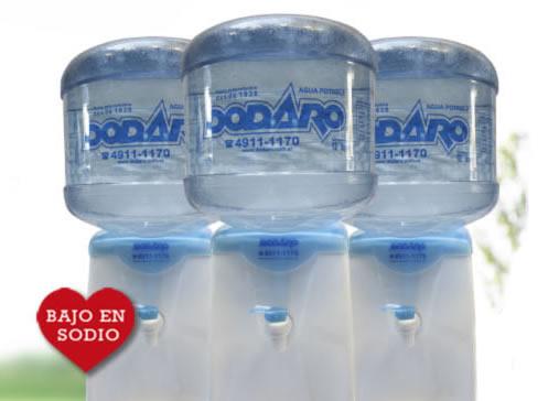 Bidon de agua mineralizada de 12 Lts